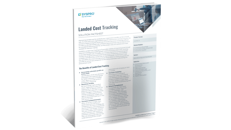 SYSPRO-ERP-software-system-landed_cost_tracking_factsheet_web_Content_Library_Thumbnail