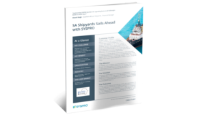 SYSPRO-ERP-software-system-shipyards-success-story